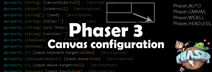 Phaser 3 - Game configuration - Johannes Wiese