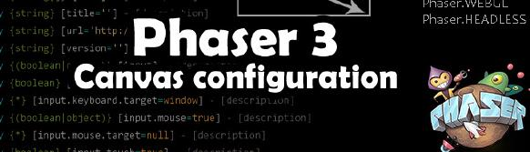 Phaser 3 - Game configuration
