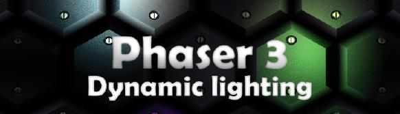 Phaser  3 - Realtime ligthing